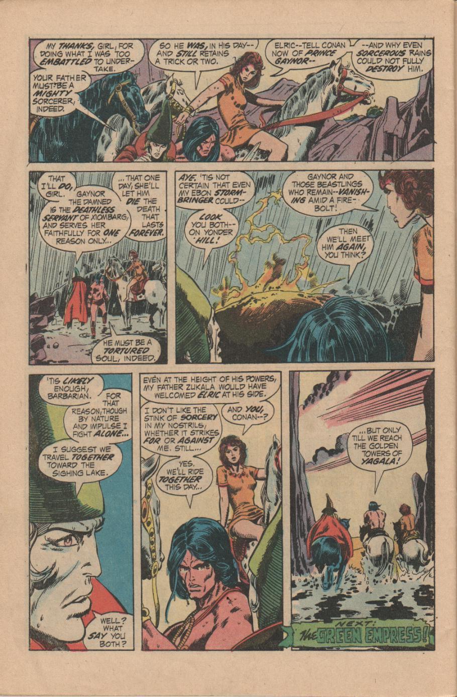 Conan the Barbarian (1970) Issue #14 #26 - English 22