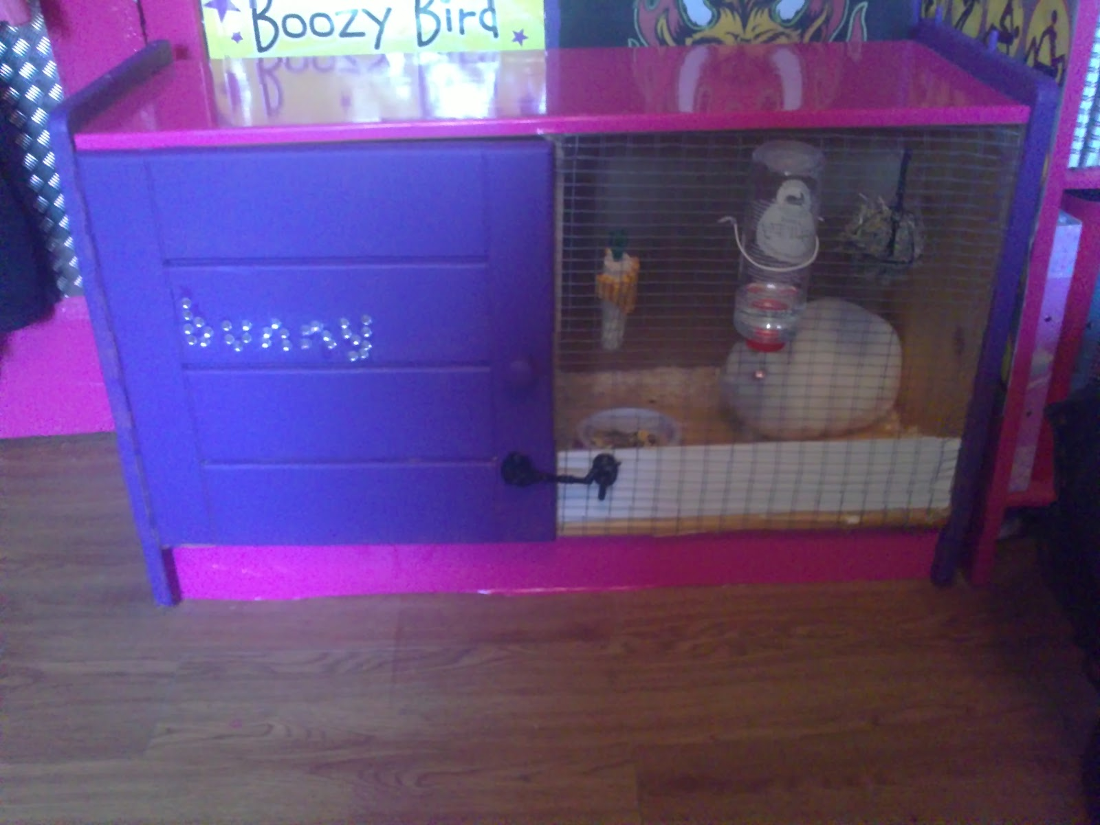 Where is my pencil diy rabbit hutch for Easy diy rabbit cage budget