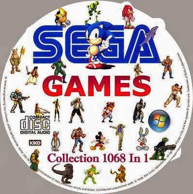 sega games collection 1068 in 1