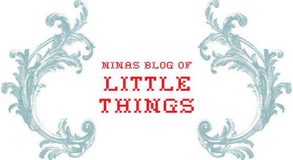 Ninas blog of little things