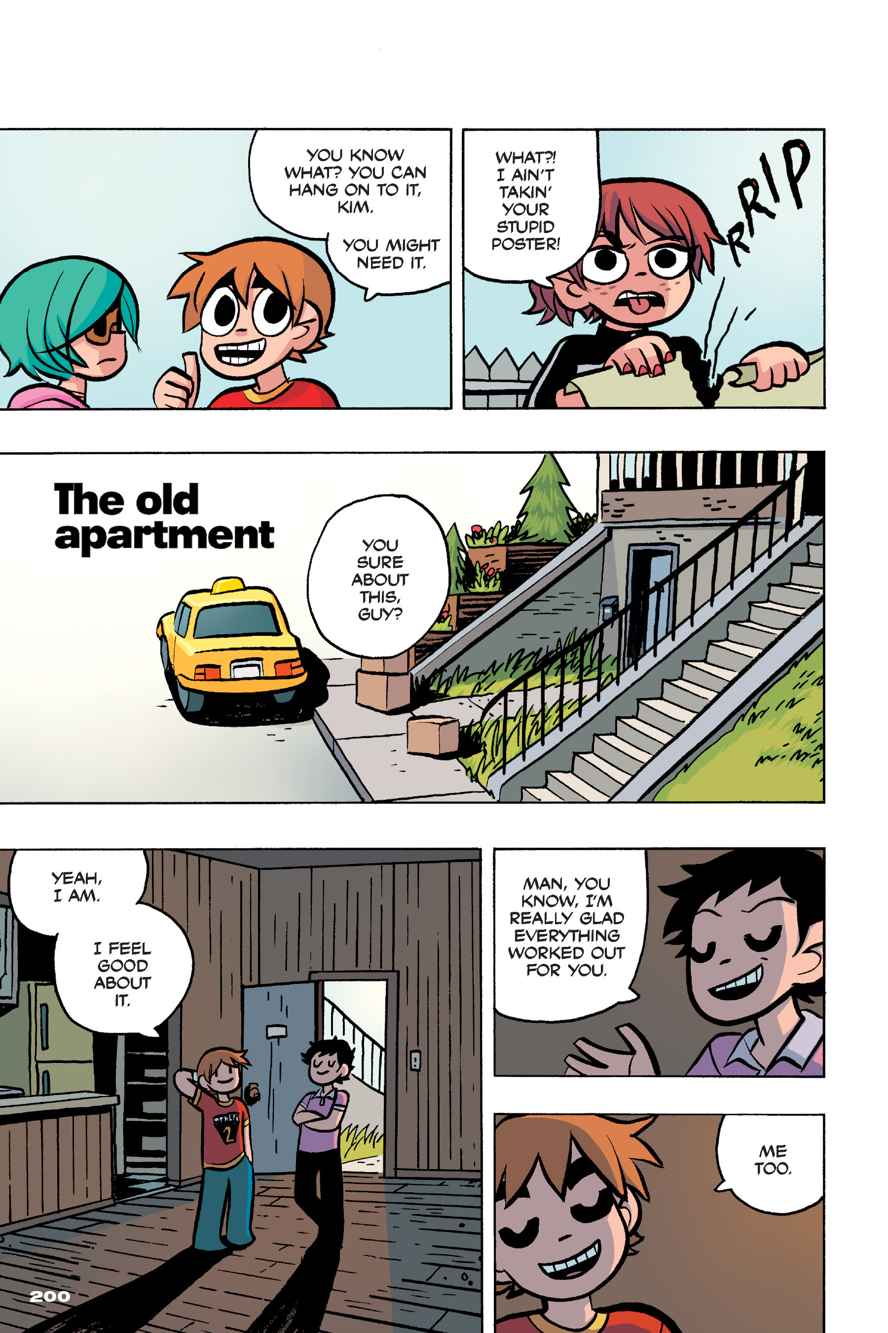 Read online Scott Pilgrim comic -  Issue #4 - 196