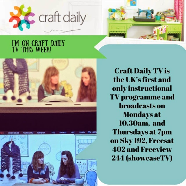 See me on Craft Daily TV