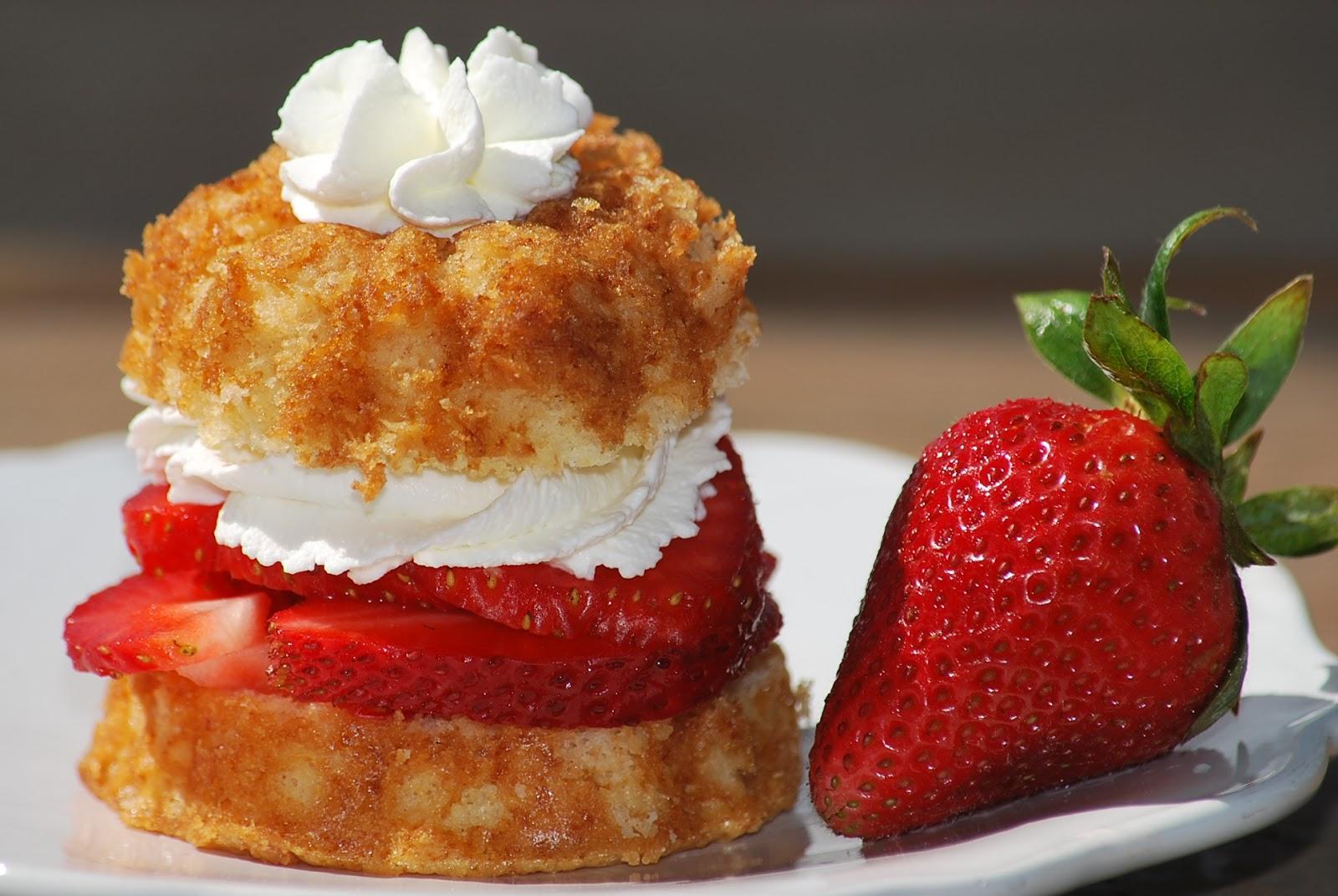 My story in recipes: Honey Shortcakes