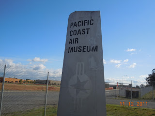 pacific coast air museum sign