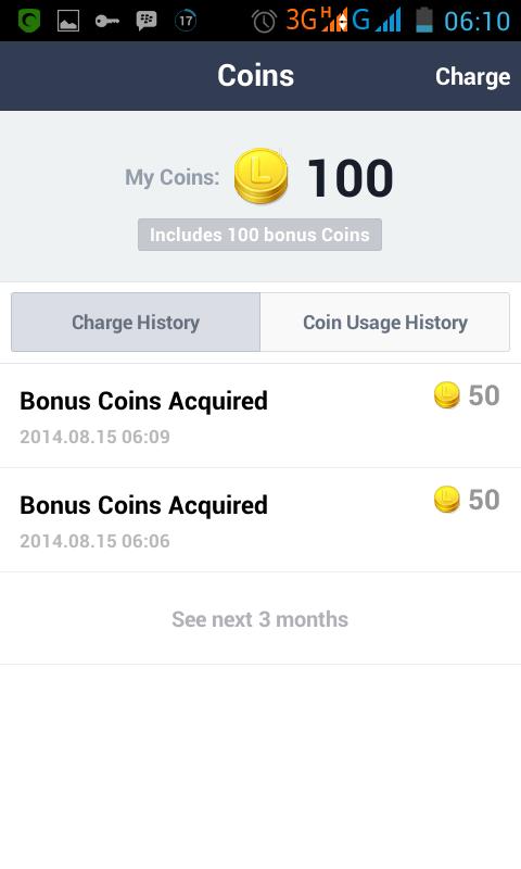 Cara Mendapatkan Coins Gratis Line 4