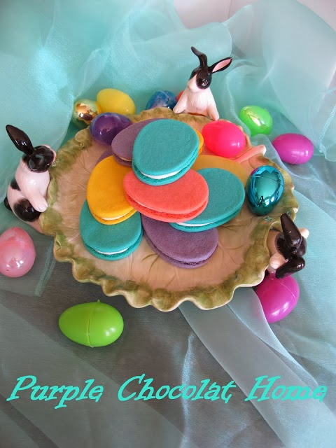 Easter Egg Sandwich Cookies