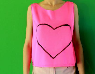 ropa corazón
