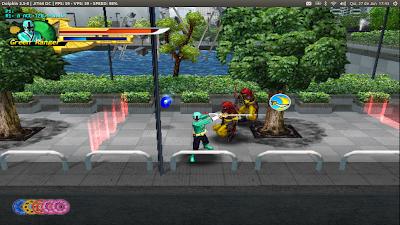 Power Rangers Samurai Linux
