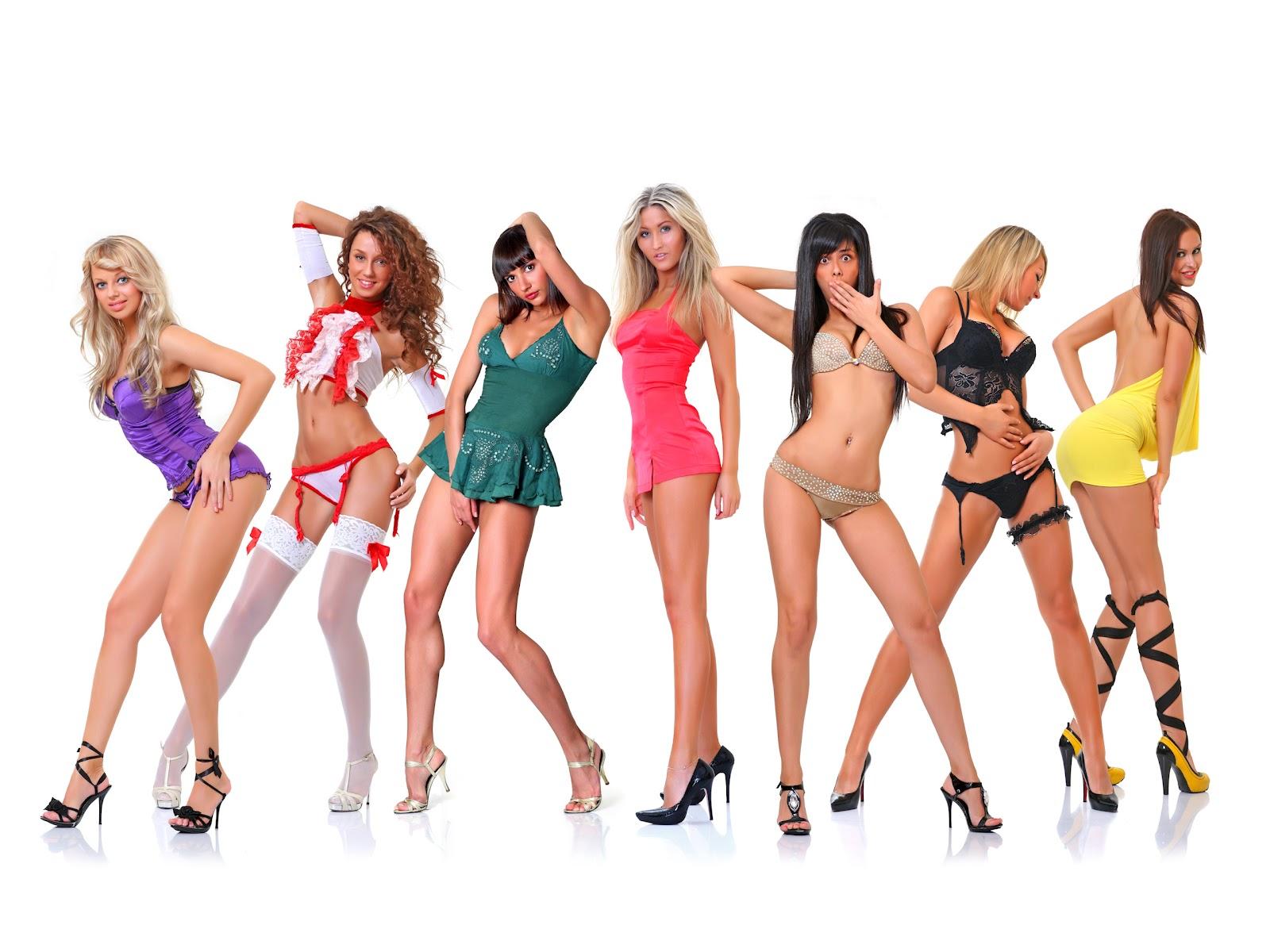 Сексуальные женщины в одежде и без 25 фотография