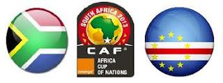 مباراة جنوب افريقيا وكاب فيردي اليوم السبت 19-01-2013