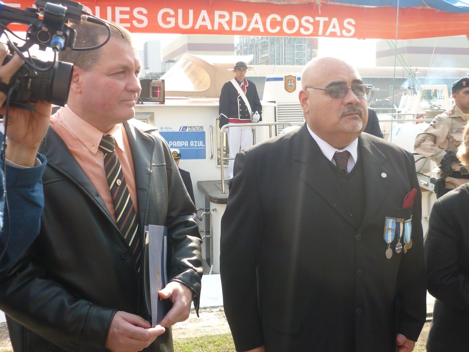 Left to Right: SMEN(RE)Roberto Borello and SIEN(RE)Oscar Guzman