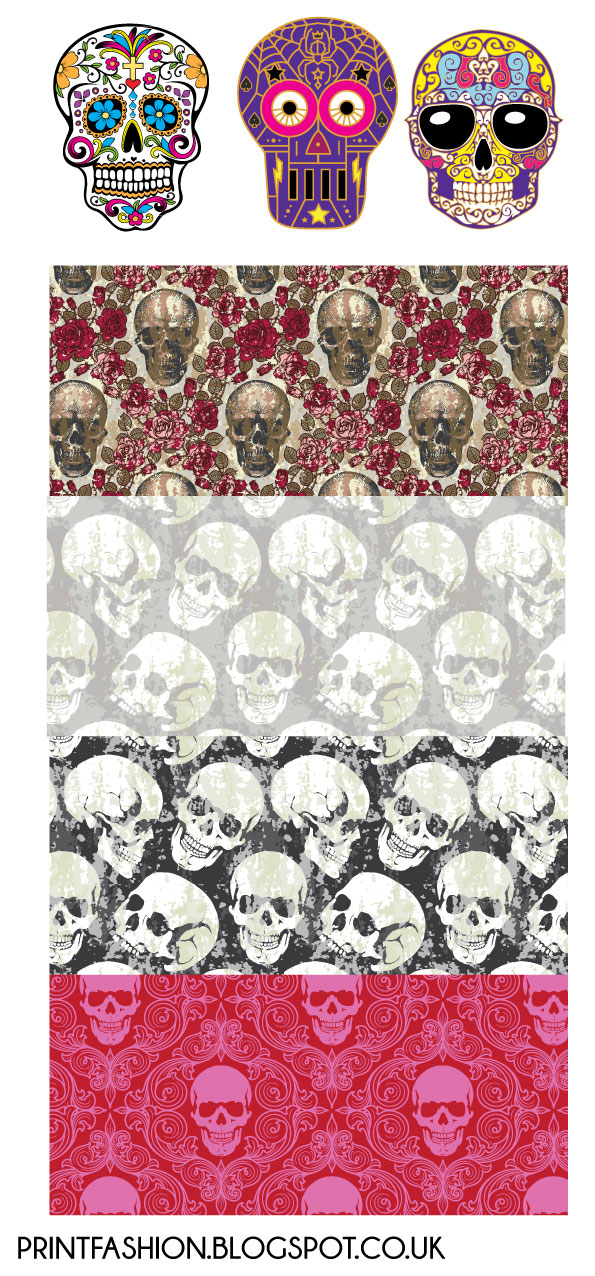 free fashion skull vector clipart