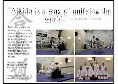 Mushinkan Aikido Poster