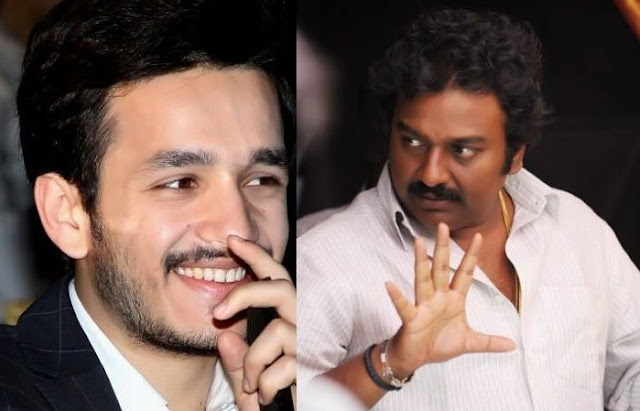 Akhil - Vinayak film shooting completed except 3 songs