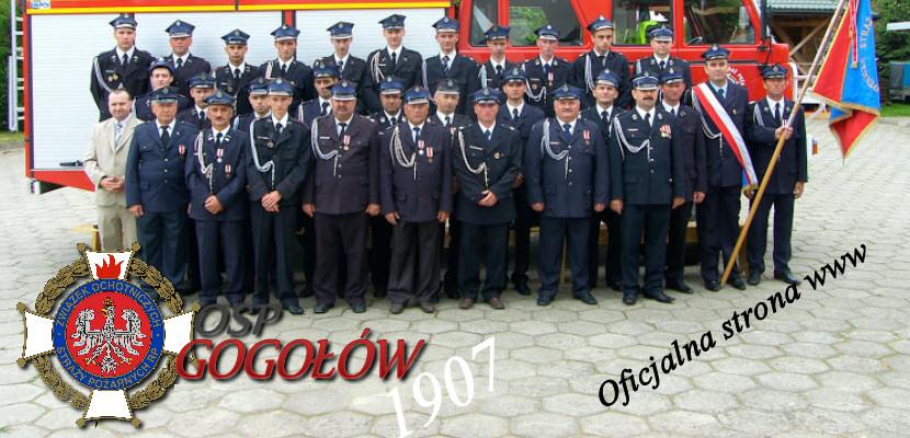 OSP GOGOŁÓW   Jednostka Operacyjno-Techniczna