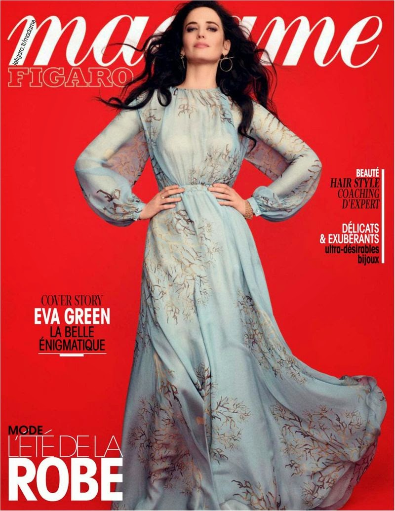 Actress @ Eva Green - Madame Figaro  France, May 2015