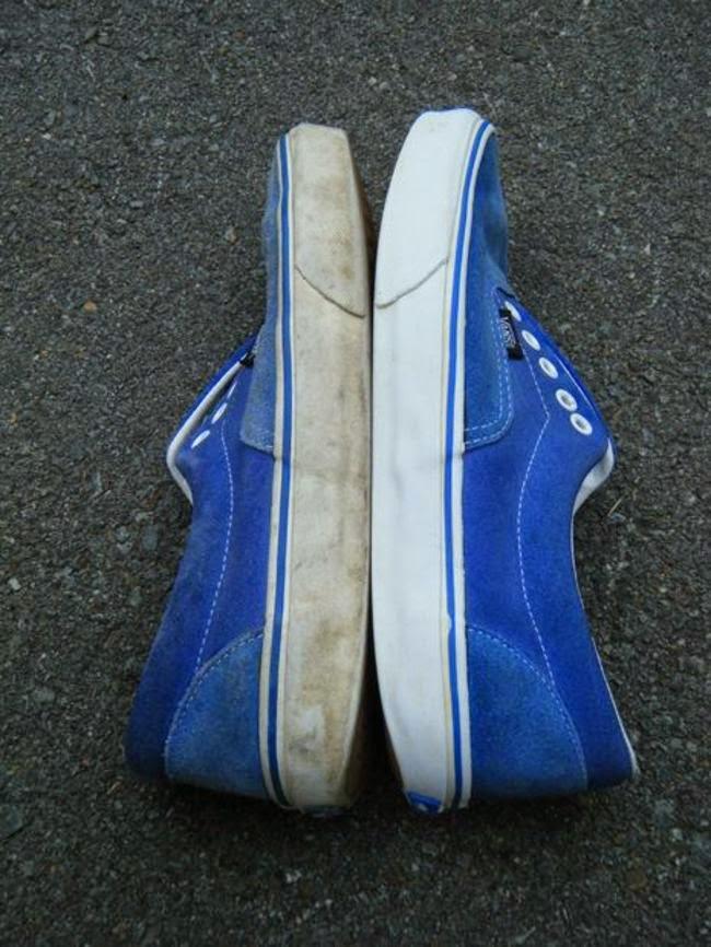 Truco para limpiar las zapatillas