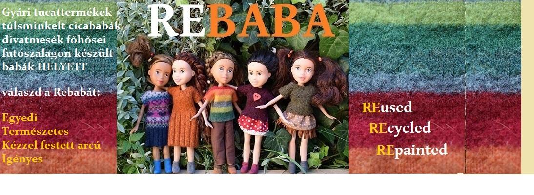Rebaba-újjáalkotott babák