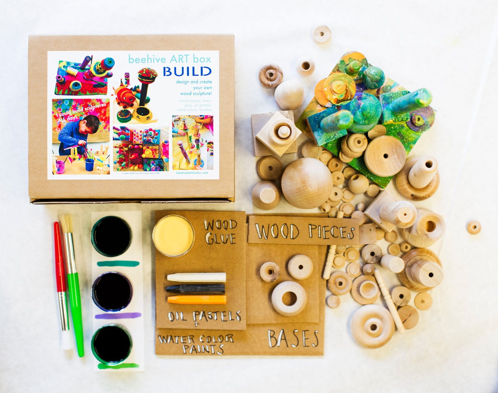 beehive BUILD ARTbox