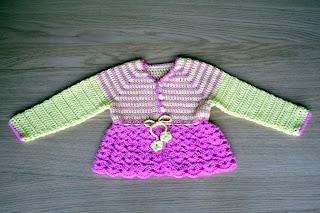 """alt=""""crochet cardigan, casaquinho em crochet, Boolero Rosários4"""""""
