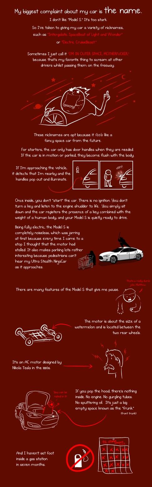 Tesla on Oatmeal