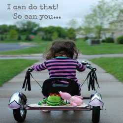 I can do that!  So can you...