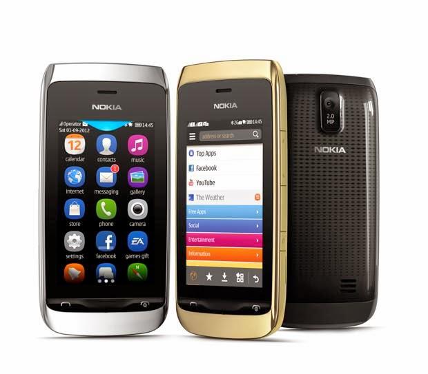 Harga Dan Spesifikasi Nokia Asha 308 Terbaru, Dengan Bentuk Terunik