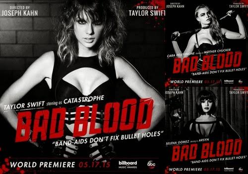 Taylor Swift'in Yeni Klibi: Bad Blood