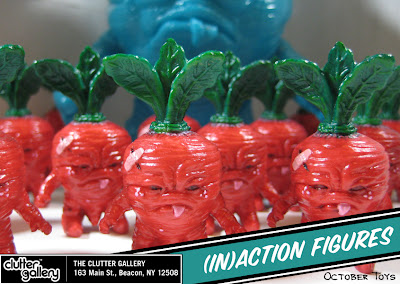 (In)Action Edition Baby Deadbeet PVC Vinyl Figure by Scott Tolleson & October Toys
