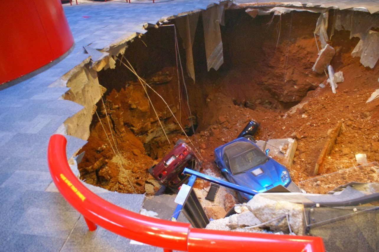 Sinkhole May Stay as an Attraction at National Corvette Museum