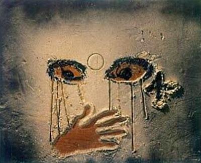 Mirada i mà (Antoni Tàpies)