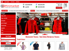 Website Toko Online Mini Market