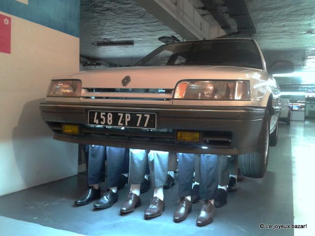 Lille Fantastic - voiture à pieds - Euralille