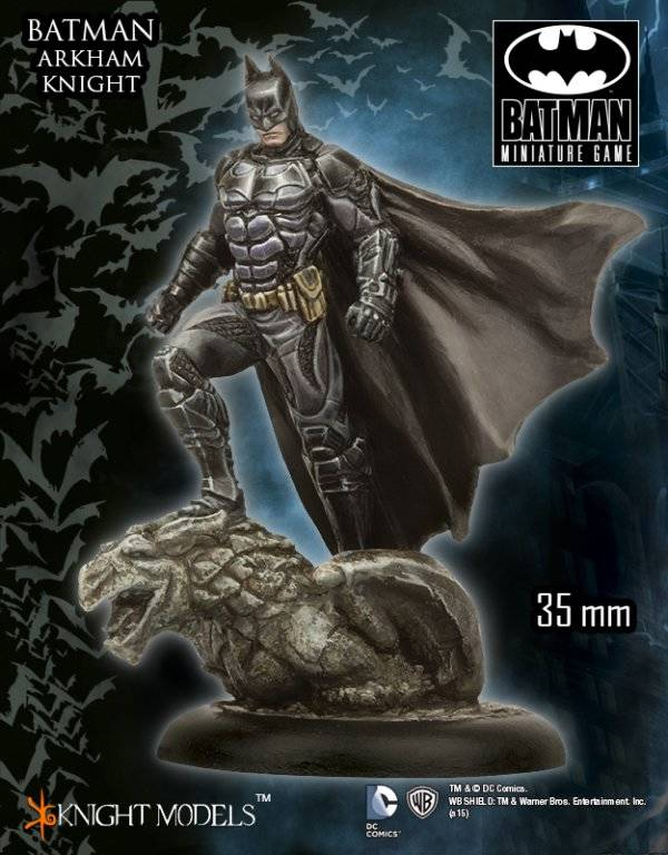 Novedades BMG Batman Miniature Game Julio: Batman (Arkham Knight) - Parte 2/4
