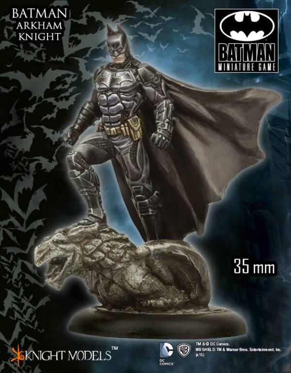Novedades BMG Batman Miniature Game Julio: Batman (Arkham Knight) - Parte 2/4