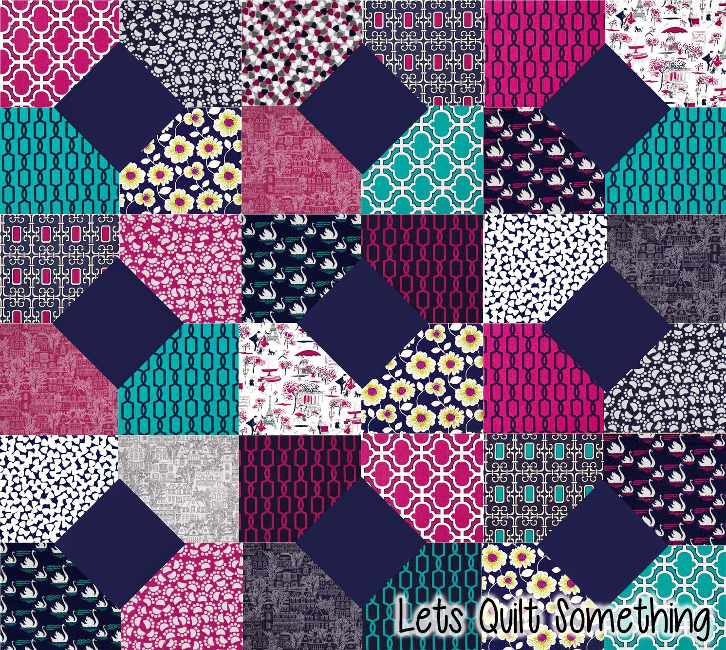 lets quilt something midnight gems free quilt pattern