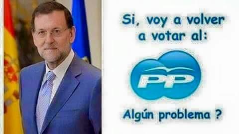 Si voy a votar al PP
