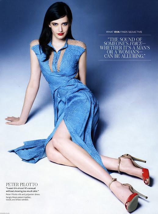 eva green instyle magazine june actress pics
