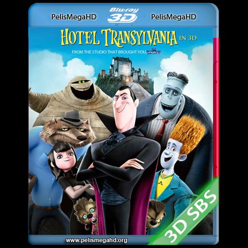 HOTEL TRANSYLVANIA (2012) 3D SBS 1080P HD MKV ESPAÑOL LATINO