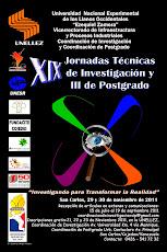 XIX JORNADAS TÉCNICAS DE INVESTIGACIÓN Y III DE POSTGRADO