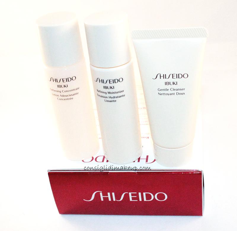 recensione ibuki shiseido kit