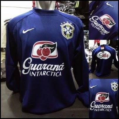 Sweater GO Brazil Biru