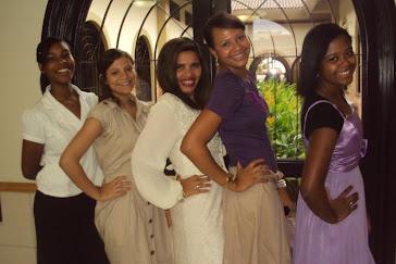 Moças comportadas da Estaca Salvador  Liberdade