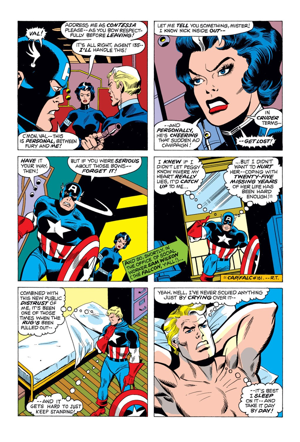 Captain America (1968) Issue #169 #83 - English 17