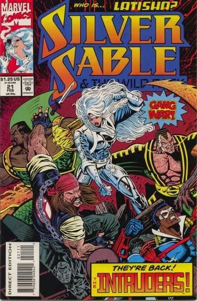 Silver Sable 21 Cover