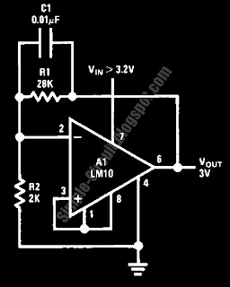 stabilized 3v voltage source reference wiring and schematic rh wirimatic blogspot com Band Gap Voltage Reference Voltage Regulator