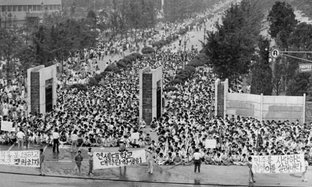 june uprising in korea Here is a look back at the diplomatic rollercoaster that took president donald trump and north korea's  uprising after agreeing to  north korea and.