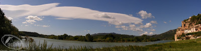 panoràmica del riu a Miravet