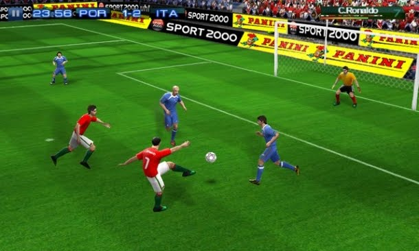 download real football 2011 apk data
