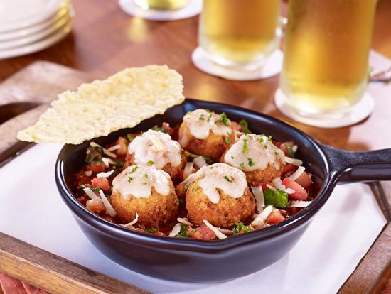 TGI Fridays, Taste of New York, Bronx Crispy Chicken Parmesan Meatballs